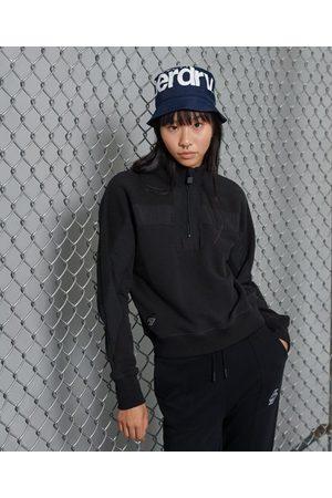 Superdry Sporty Dolmon sweatshirt med skorstenskrave