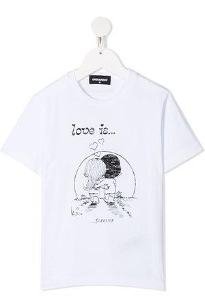 Dsquared2 Illustration-print T-shirt