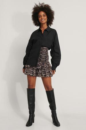NA-KD Kvinder Mininederdele - Smocked Frill Skirt