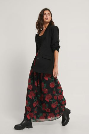 NA-KD Maxi Sheer Skirt