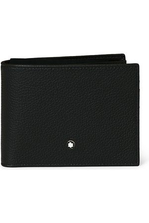 Mont Blanc Mænd Punge - MST Soft Grain Wallet 11cc with View Pocket Black