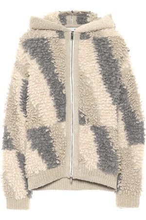 Stella McCartney Alpaca and wool-blend hoodie