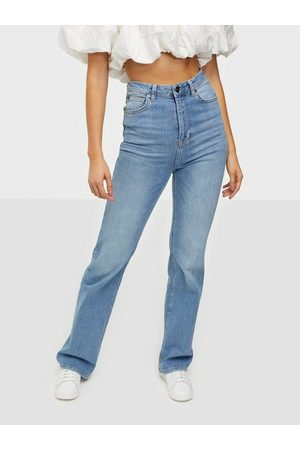the ODENIM Kvinder Straight - O-Ninety Jeans Straight fit