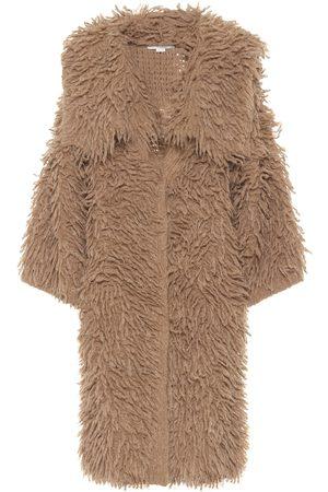 Stella McCartney Kvinder Vinterfrakker - Alpaca and wool-blend coat