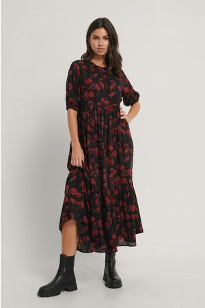 NA-KD Flowy Shirt Sleeve Dress