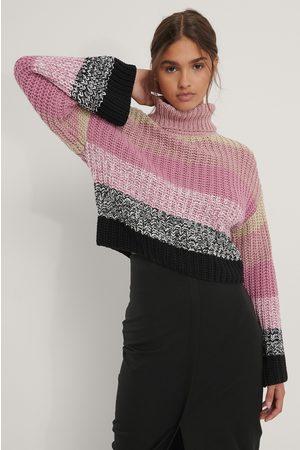 NA-KD Kvinder Strik - Colorful Knit