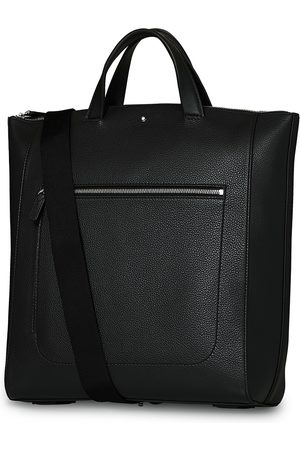 Mont Blanc Mænd Skuldertasker - MST Soft Grain Tote with Zip Black
