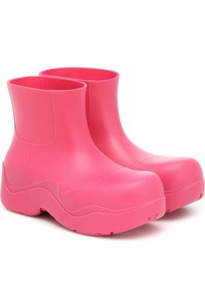 Bottega Veneta BV Puddle rubber ankle boots