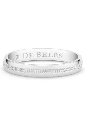 De Beers Ring med logo-indgravering