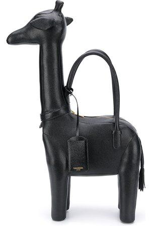 Thom Browne Girafformet tote-taske