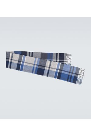 Loro Piana Large Royal College checked scarf