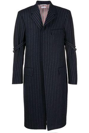 Thom Browne Chesterfield frakke med nålestriber