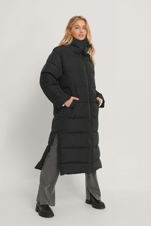 NA-KD Kvinder Vinterjakker - Oversized Long Puffer Jacket