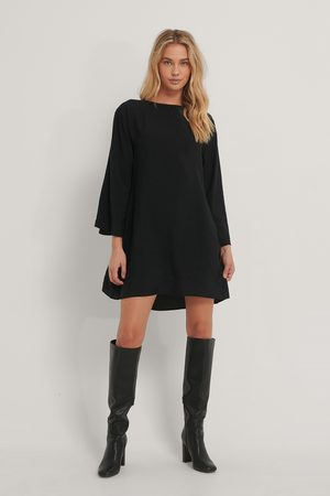 NA-KD A-Line Wide Sleeve Mini Dress