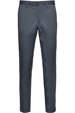 Selected Mænd Habitbukser - Slhslim-Aiden Aop Pants B Noos Habitbukser Stylede Bukser
