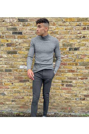 ASOS Tall - Elegante Super Skinny-bukser i grå