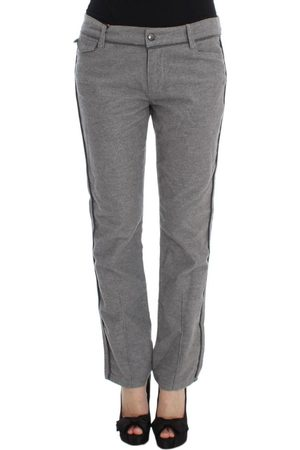 ERMANNO SCERVINO Straight Fit Casual Pants
