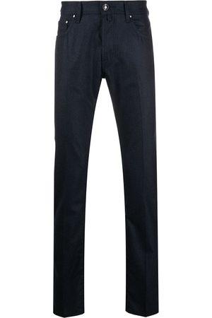 Jacob Cohen Skinny-bukser i uldblanding