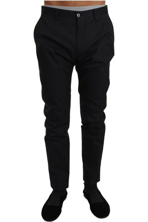 Dolce & Gabbana Cotton Stretch Formal Trousers