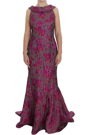 Dolce & Gabbana Kvinder Bodycon kjoler - Floral Brocade Sheath Gown Dress