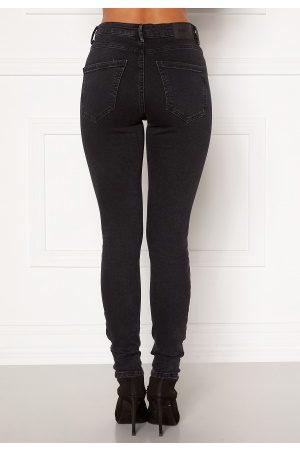 Vero Moda Kvinder Skinny - Sophia HR Skinny Jeans Dark Grey Denim L/32