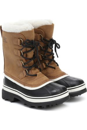 sorel Kvinder Vinterstøvler - Caribou shearling and nubuck snow boots