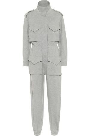 Norma Kamali Turtle stretch-cotton jumpsuit