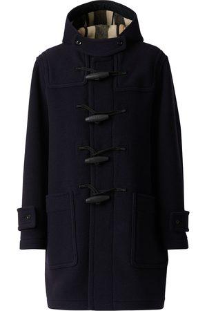 Burberry Mænd Frakker - Check-lined duffle coat