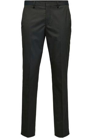 Selected Bukser med fals 'MYLOLOGAN