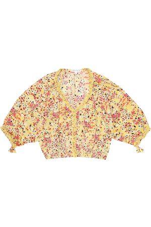 POUPETTE ST BARTH Piger Bluser - Ariel floral blouse