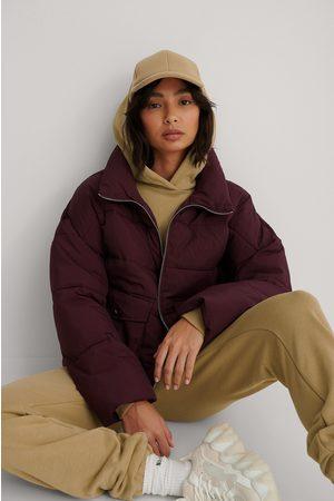 NA-KD Kvinder Jakker - Big Pocket Padded Short Jacket