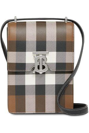 Burberry Robin check-pattern bag