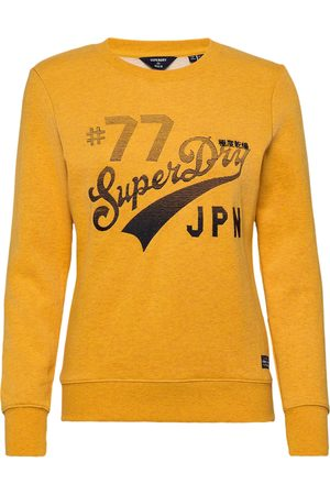 Superdry Rw Classic Applique Crew Sweatshirt Trøje Gul