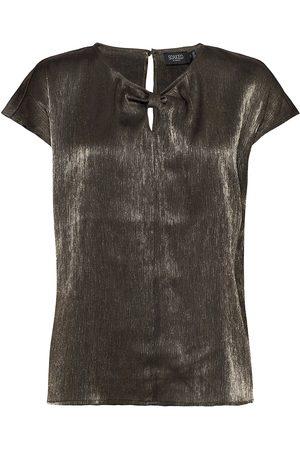 Soaked in Luxury Slminaj Top Blouses Short-sleeved