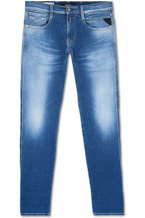 Replay Mænd Jeans - Anbass Hyperflex Reused Jeans Light Blue