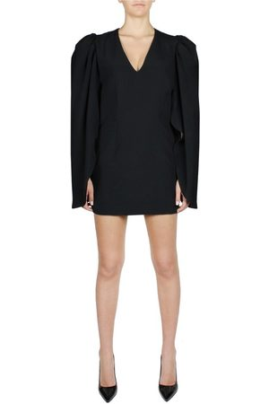 FEDERICA TOSI GIGOT-SLEEVED MINI DRESS