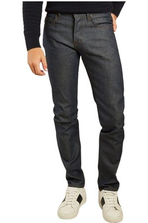 Naked & Famous Denim Super fyr naturlige indigo kanttrådene jeans