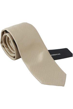 Dolce & Gabbana Solid Light Silk Classic Wide Necktie