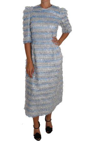 Dolce & Gabbana Fringe Midi Sheath Dress