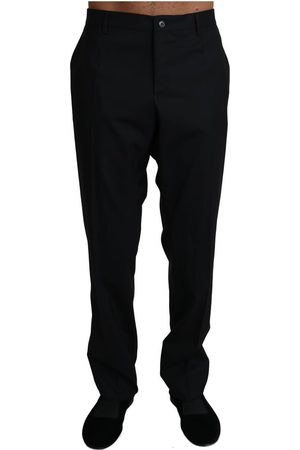 Dolce & Gabbana Wool Stretch Dress Trousers Pants
