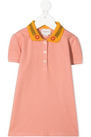 Gucci Drenge Langærmede skjorter - Skjorte med blomster-broderi