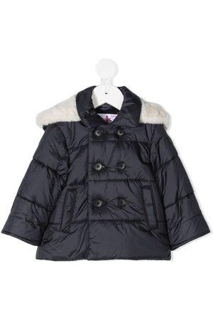 Il gufo Faux-fur hood padded coat