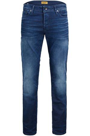 Jack & Jones Mænd Slim - Tim Original Jj 267 Slim/straight Fit Jeans Mænd