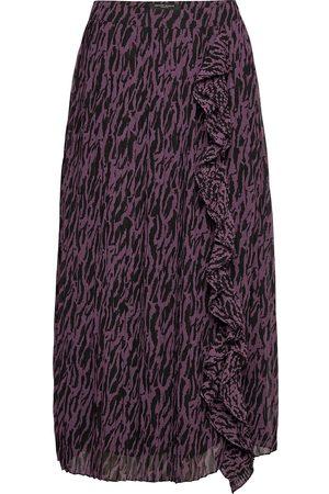 Bruuns Bazaar Grace York Skirt Lang Nederdel Lilla