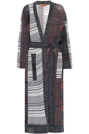Missoni Kvinder Cardigans - Lamé intarsia longline cardigan