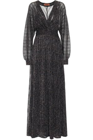 Missoni Kvinder Maxikjoler - Stretch-silk lamé maxi dress