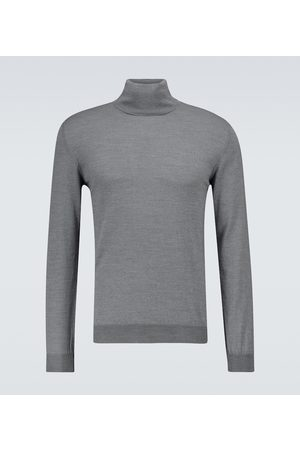 ZANONE Mænd Strik - Flexwool turtleneck sweater