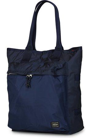 PORTER-YOSHIDA & CO Mænd Stofposer - Force Tote Bag Navy Blue