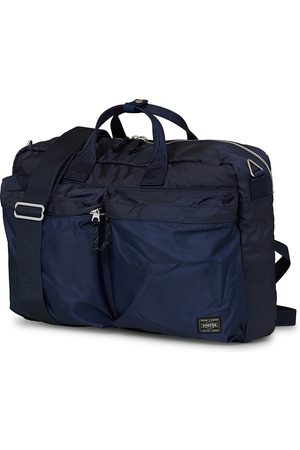PORTER-YOSHIDA & CO Mænd Laptop Tasker - Force 3Way Briefcase Navy Blue