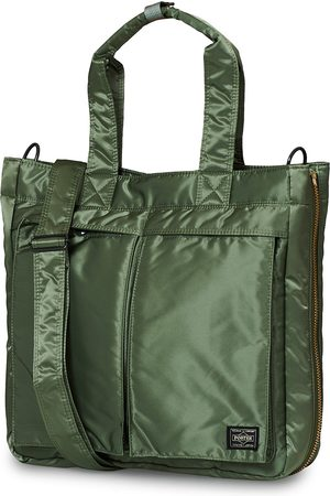 PORTER-YOSHIDA & CO Tanker Tote Bag Sage Green